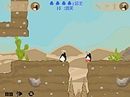 Penguin couple adventure online